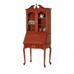 Queen Anne Secretary Desk & Hutch