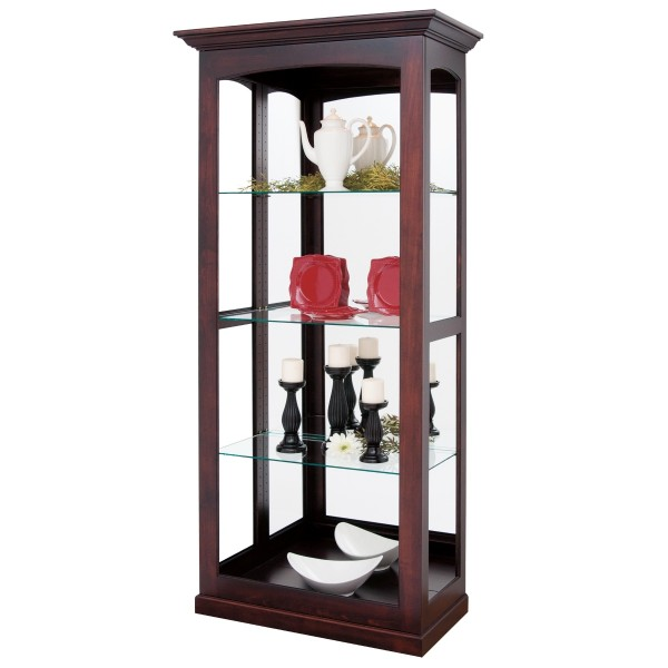 Crystal River Large Sliding Door Curio