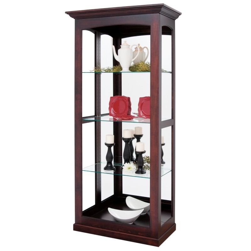 Crystal River Large Sliding Door Curio Amish Curio
