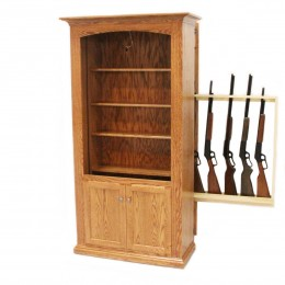 Hidden Gun Storage Bookcase