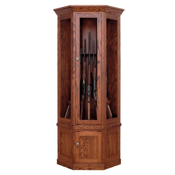 Allegheny 7 Gun Corner Cabinet