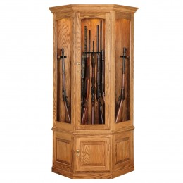 Amish Made Wood Gun Cabinets Country Lane Furniture