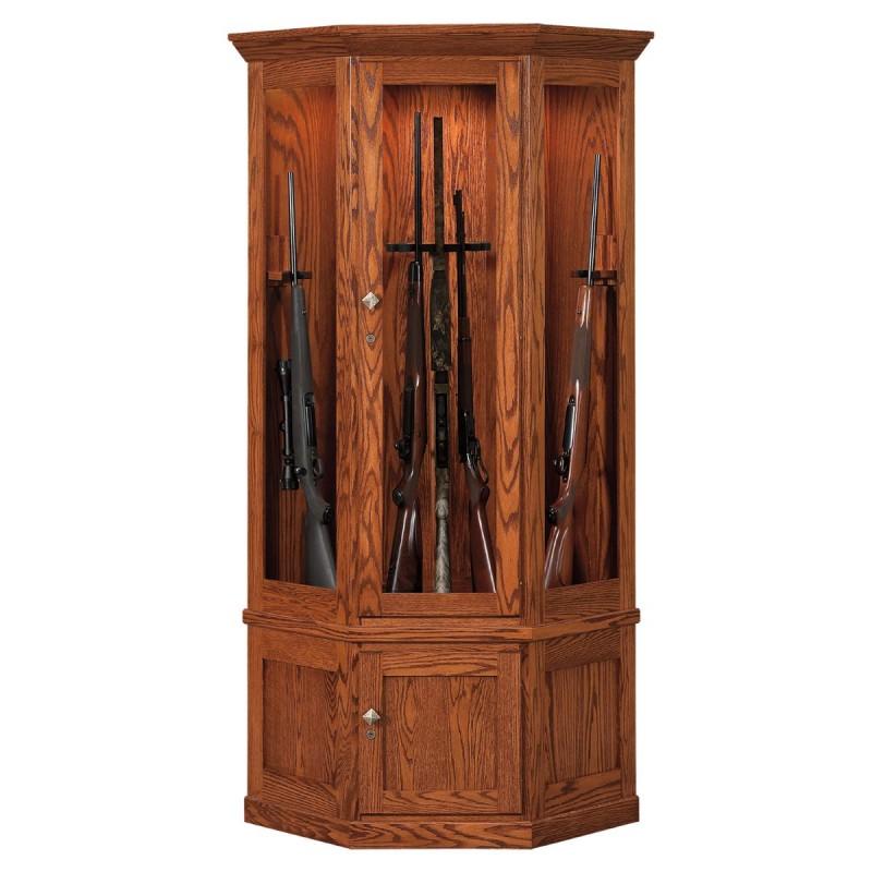 ... Valley Forge 14 Gun Corner Cabinet ...