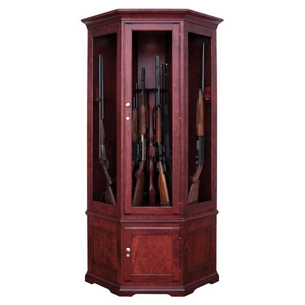 Valley Forge 14 Gun Corner Cabinet