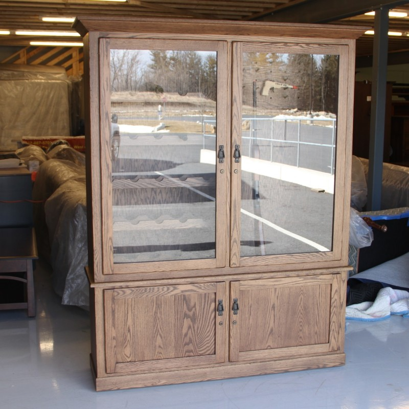 Custom Wine Amp Gun Cabinet Country Lane Furniture