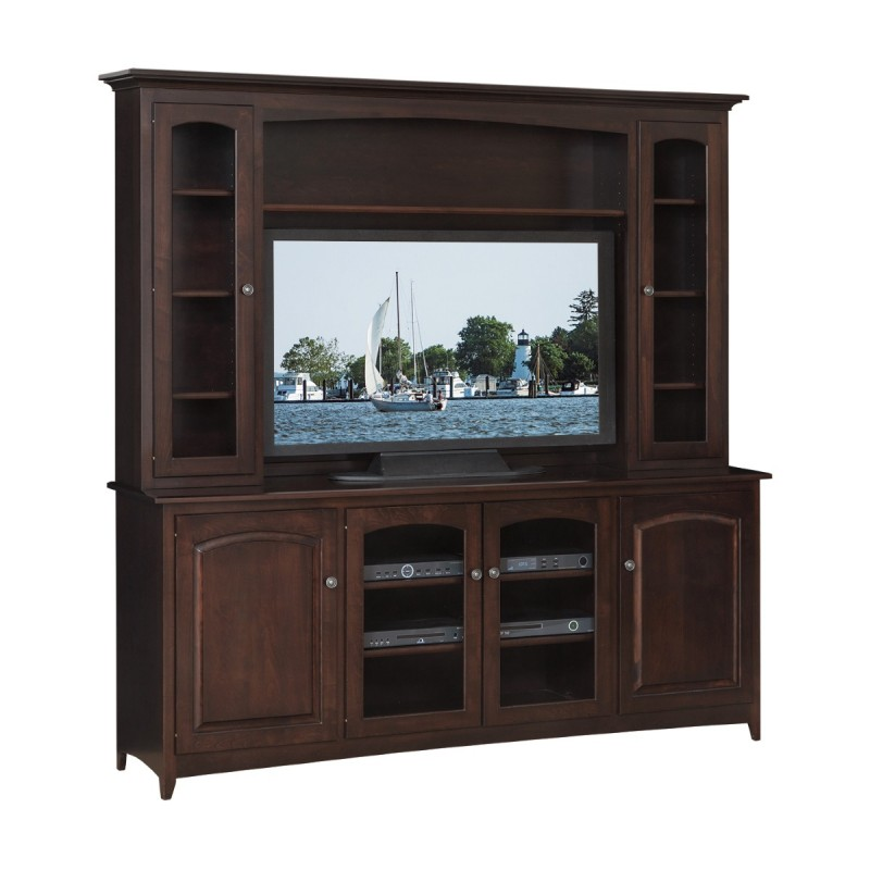 Manchester 76quot TV Stand amp Hutch Amish Made Manchester 76  : 410 Man7633B 2D Man7646H Manchester 76 TV Stand And Hutch 800x800 from www.countrylanefurniture.com size 800 x 800 jpeg 73kB