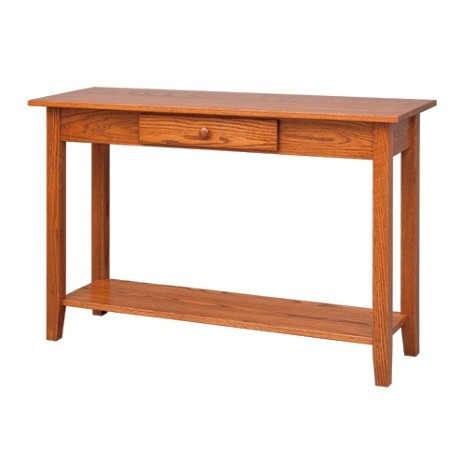 Shaker Sofa Table With Shelf Country Lane Furniture
