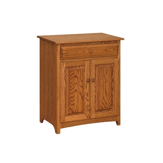 Shaker Microwave Stand Country Lane Furniture
