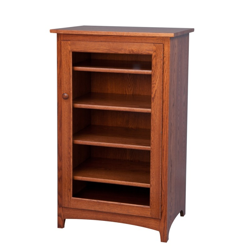 Large Shaker Stereo Cabinet Amish Large Shaker Stereo Cabinet Country Lane Furniture
