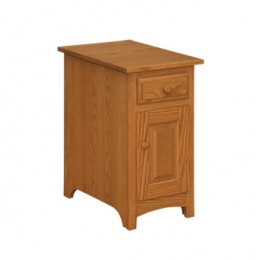 Shaker Cabinet Chairside Table