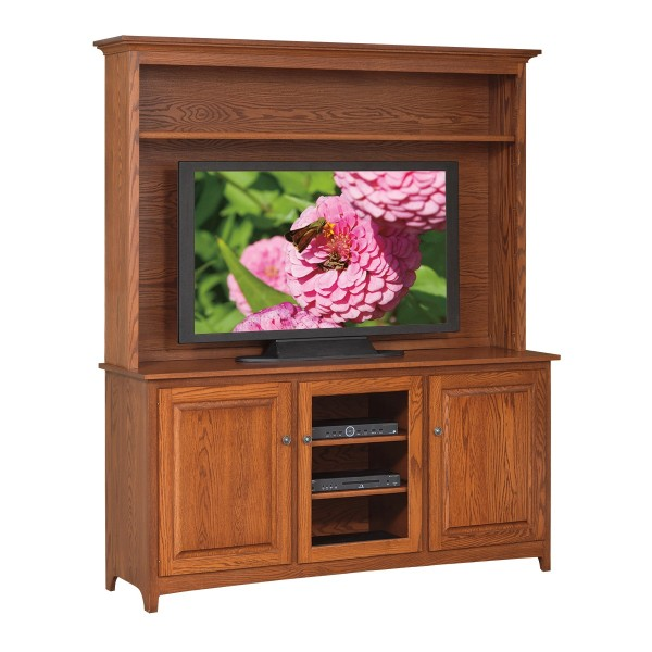 "Shaker 66"" TV Stand & Hutch"