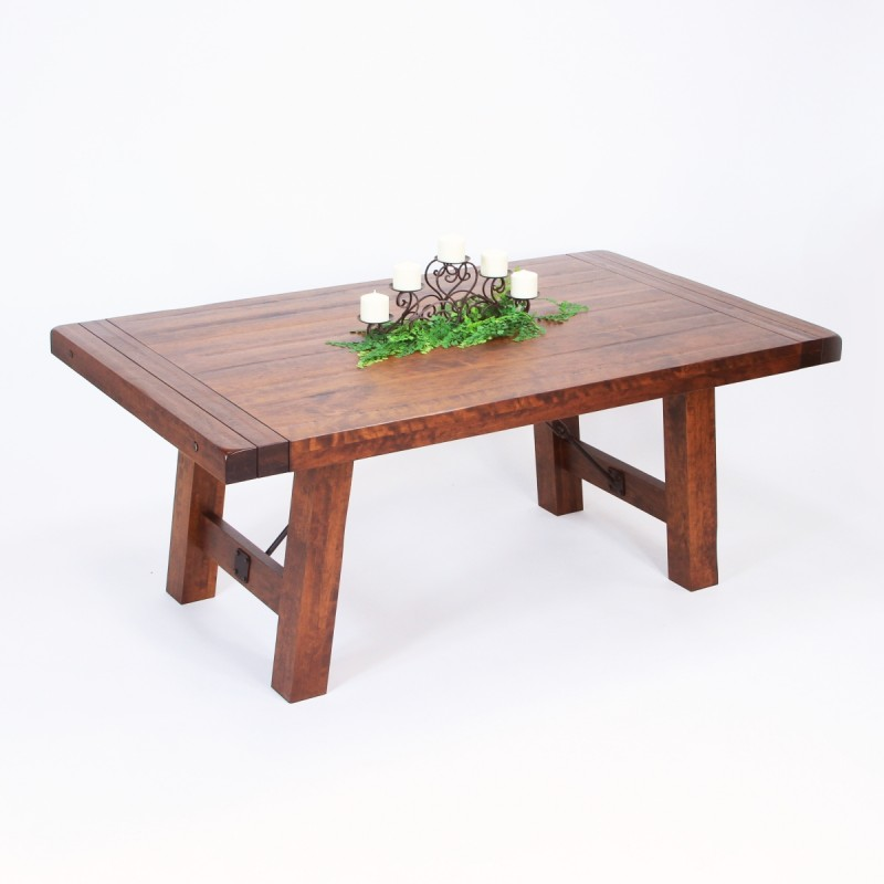 Iron Sawyer Table Amish Made Table Pa Cherry Table