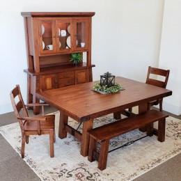 Iron Sawyer Dining Set