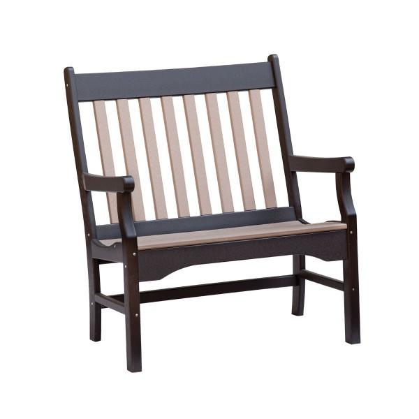 Conestoga 3' Poly Garden Bench