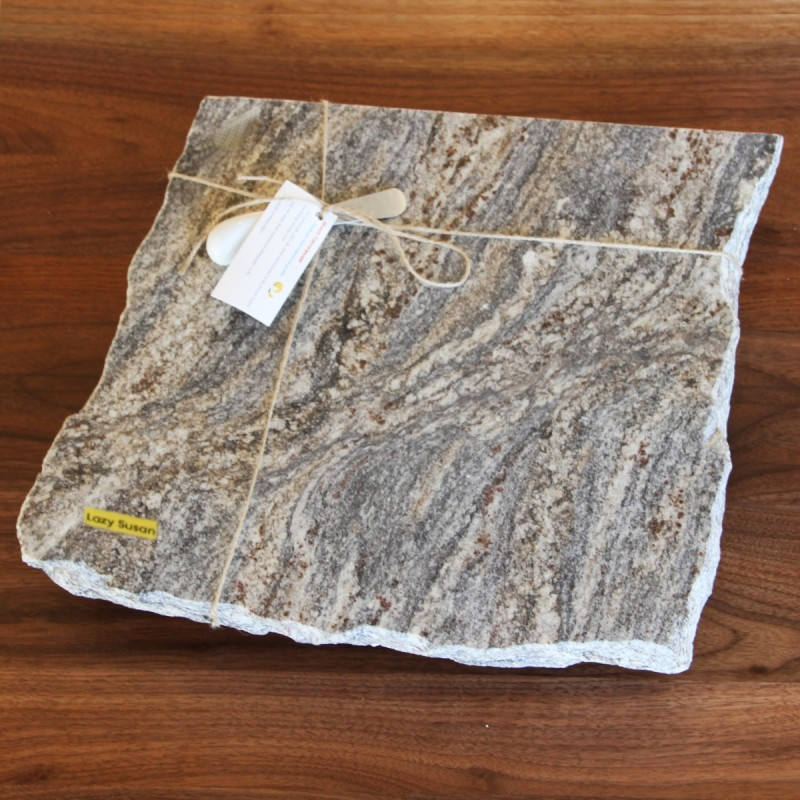 Granite Cheese Board Lazy Susan Amish Made Handcrafted