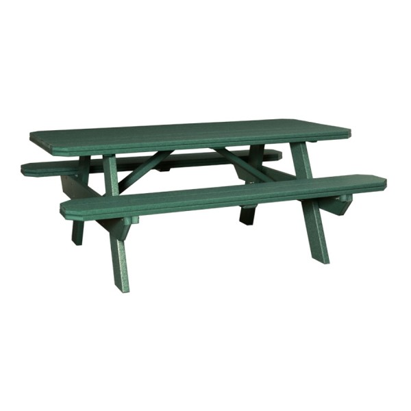 6' Poly Picnic Table