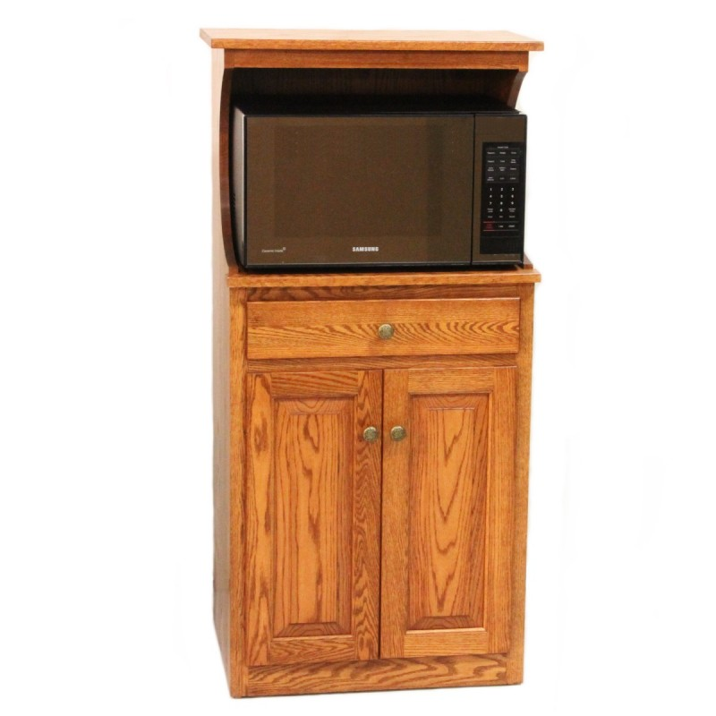 Microwave Stand With Hutch Country Lane Furniture