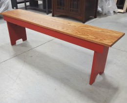 "Large 60"" Farm Bench"