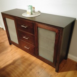 Custom Oak Contemporary Buffet