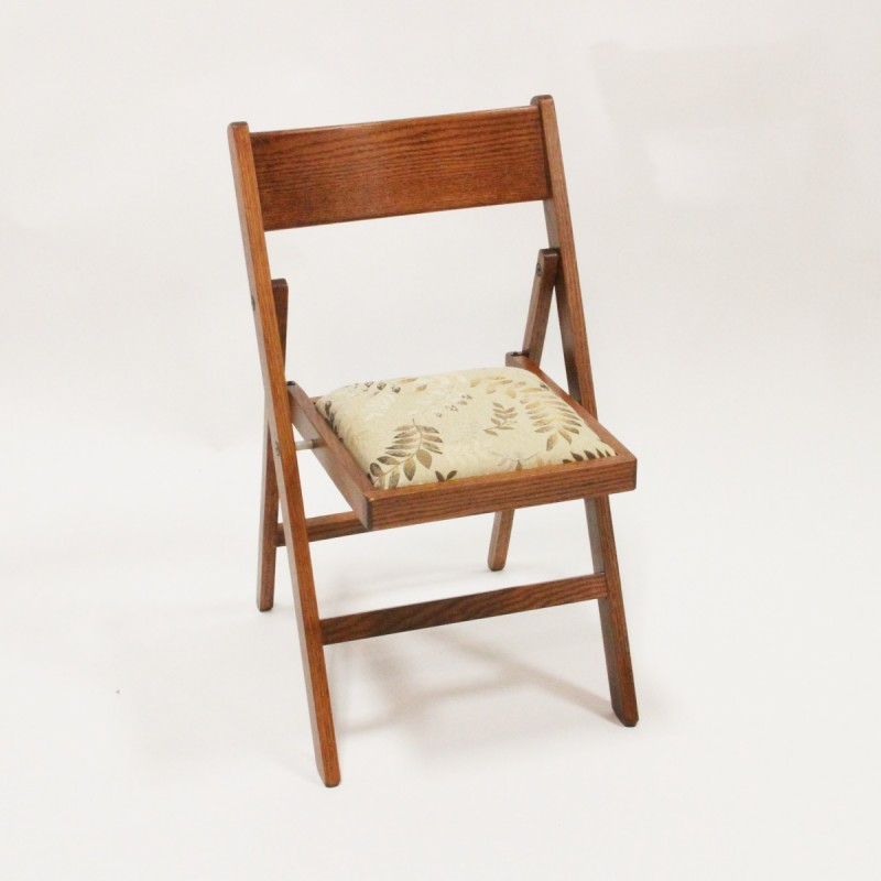 Amish Wooden Chairs ~ Amish made wood folding chair country lane furniture