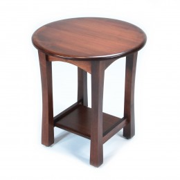Greenfield Round End Table