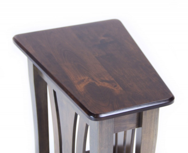 Metro Wedge Table Amish Made Metro End Table Country