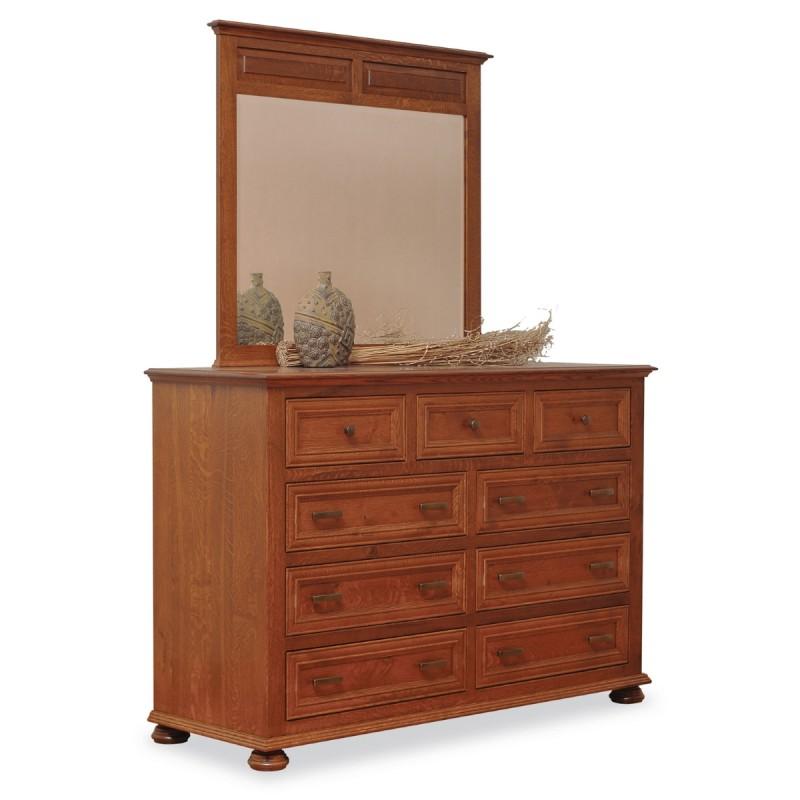 canyon large dresser mirror amish canyon large dresser mirror country lane furniture. Black Bedroom Furniture Sets. Home Design Ideas