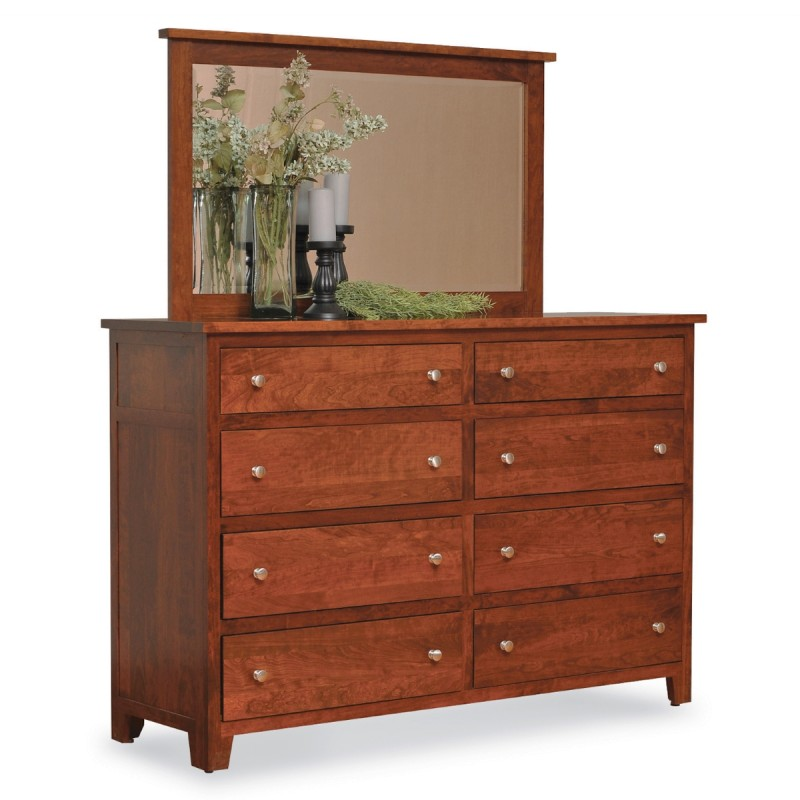 Brooklyn Large Dresser Mirror Amish Brooklyn Large Dresser Mirror Country Lane Furniture