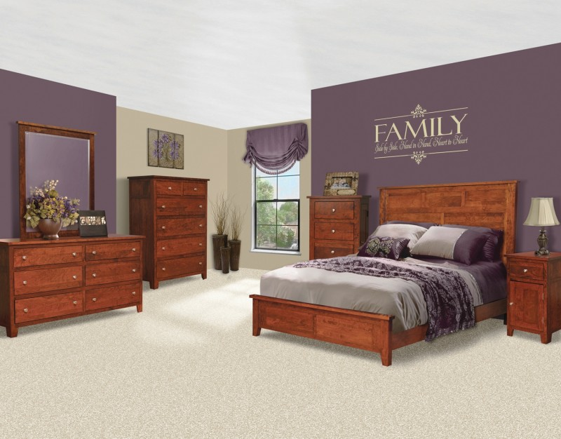 Brooklyn Bedroom Set | Amish Brooklyn Bedroom Set - Country ...