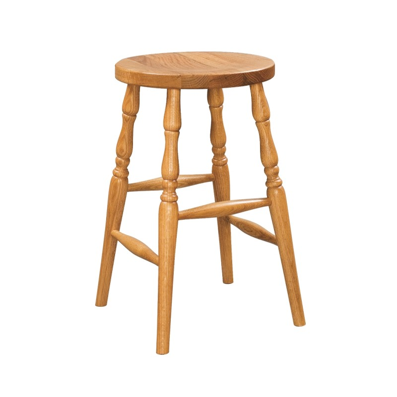 Turned Leg Bar Stool Shapeyourminds Com