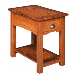 Country Lodge Chairside Table