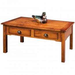 Country Lodge Rectangle Coffee Table