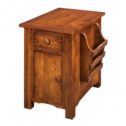 Country Lodge Chairside Cabinet