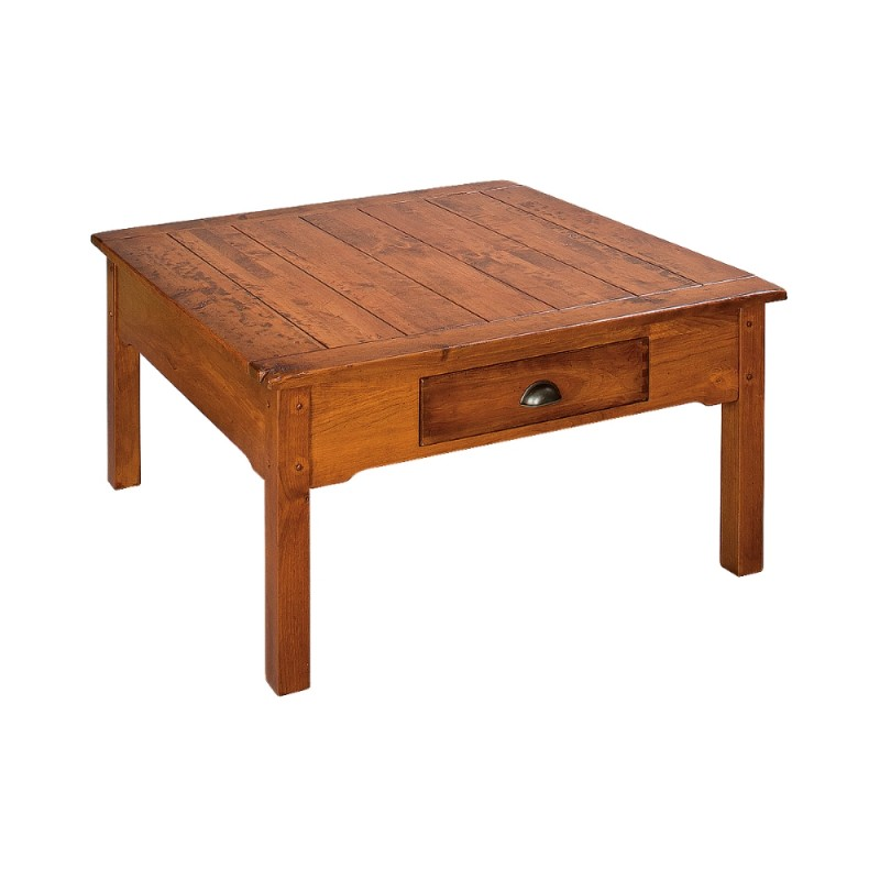 country lodge square coffee table country lane furniture With square country coffee table