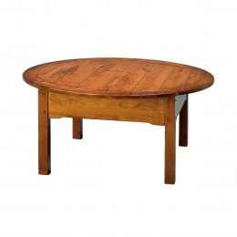 Country Lodge Round Coffee Table