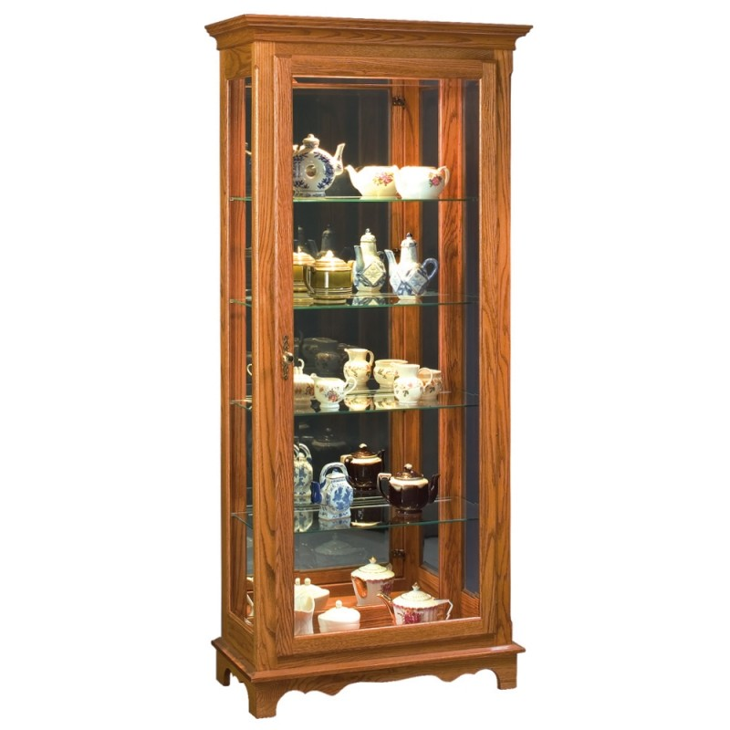 Curio cabinet amish medium country lane