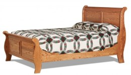Captain Sleigh Bed