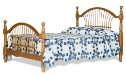 Colonial Wheat Bed