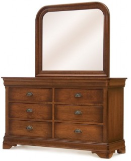 Le Chateau Double Dresser and Calais Mirror
