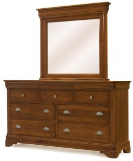 Le Chateau Triple Dresser and Chateau Mirror