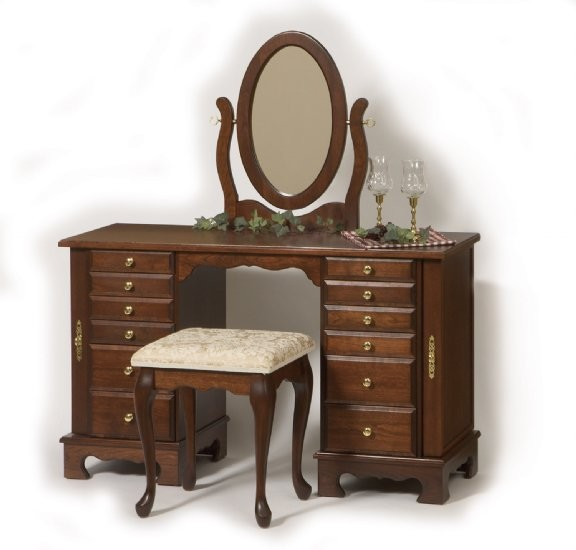 Traditional Jewelry Dressing Table Amish Crafted Jewelry