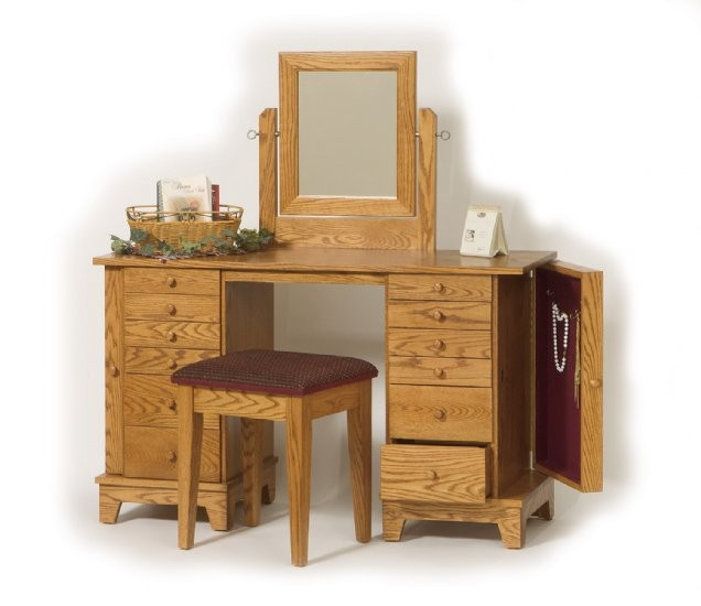 Shaker Jewelry Dressing Table Amish Crafted Dressing