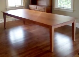 Custom Cherry 10' Table