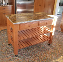 Amish Kitchen Islands Solid Hardwood CustomMade Country Lane - Amish kitchen island