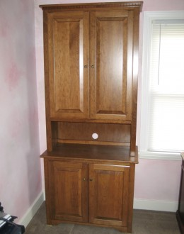 Custom Cherry Bookcase