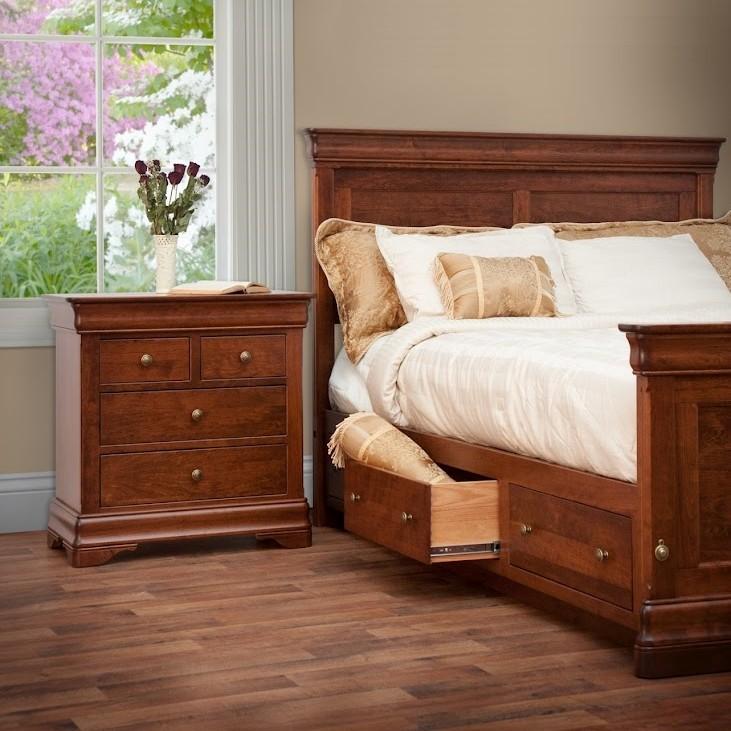 Marvelous Le Chateau Bedroom Set Amish Handcrafted Solid Hardwood Download Free Architecture Designs Itiscsunscenecom