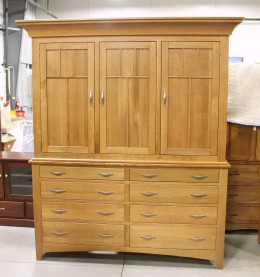 Custom Mission Mule Chest Armoire