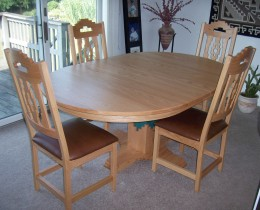 Custom Southwestern Dining Set