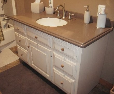 Custom Maple Bathroom Vanity ...