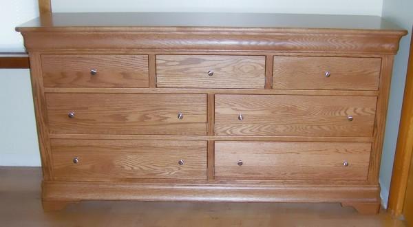 Custom Oak Dresser
